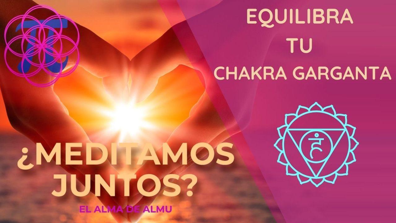 Desbloquea y equilibra el chakra garganta